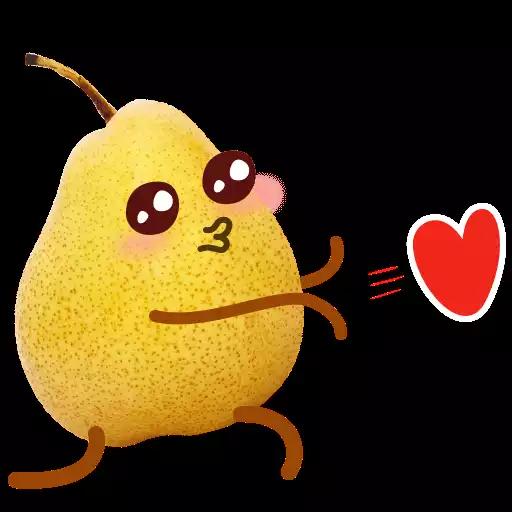 Fruit Stickers messages sticker-4
