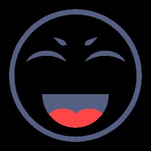 CuteFace-fun sticker messages sticker-4