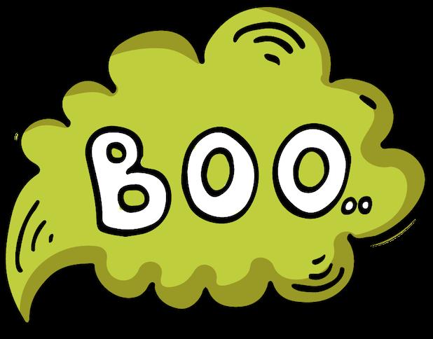 Spooky Halloween Sticker messages sticker-8