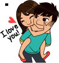Hug Stickers messages sticker-0