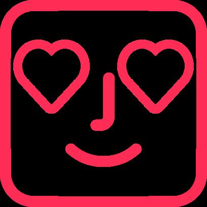 Instaface - Sticker Pack messages sticker-7