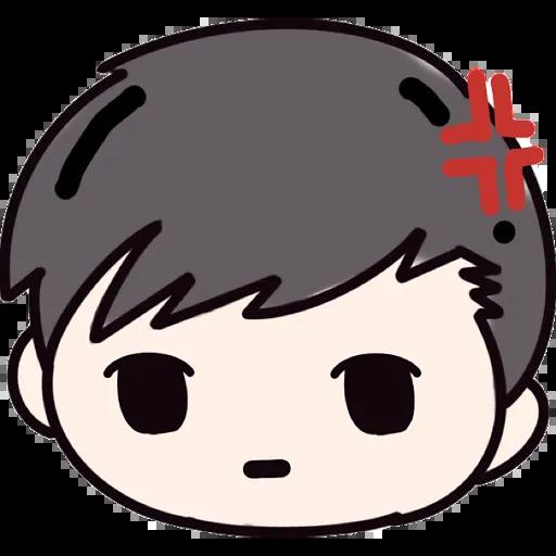 CuteBoy 696 messages sticker-8