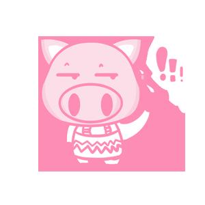 粉红猪 messages sticker-7