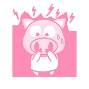 粉红猪 messages sticker-5