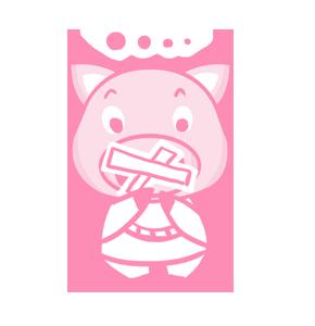 粉红猪 messages sticker-4