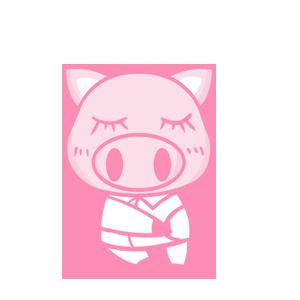 粉红猪 messages sticker-3