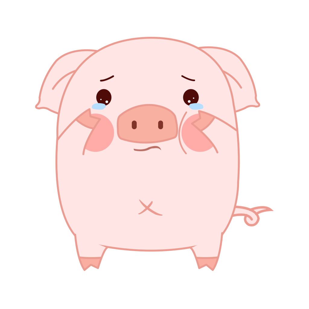 Pippi Pig messages sticker-5