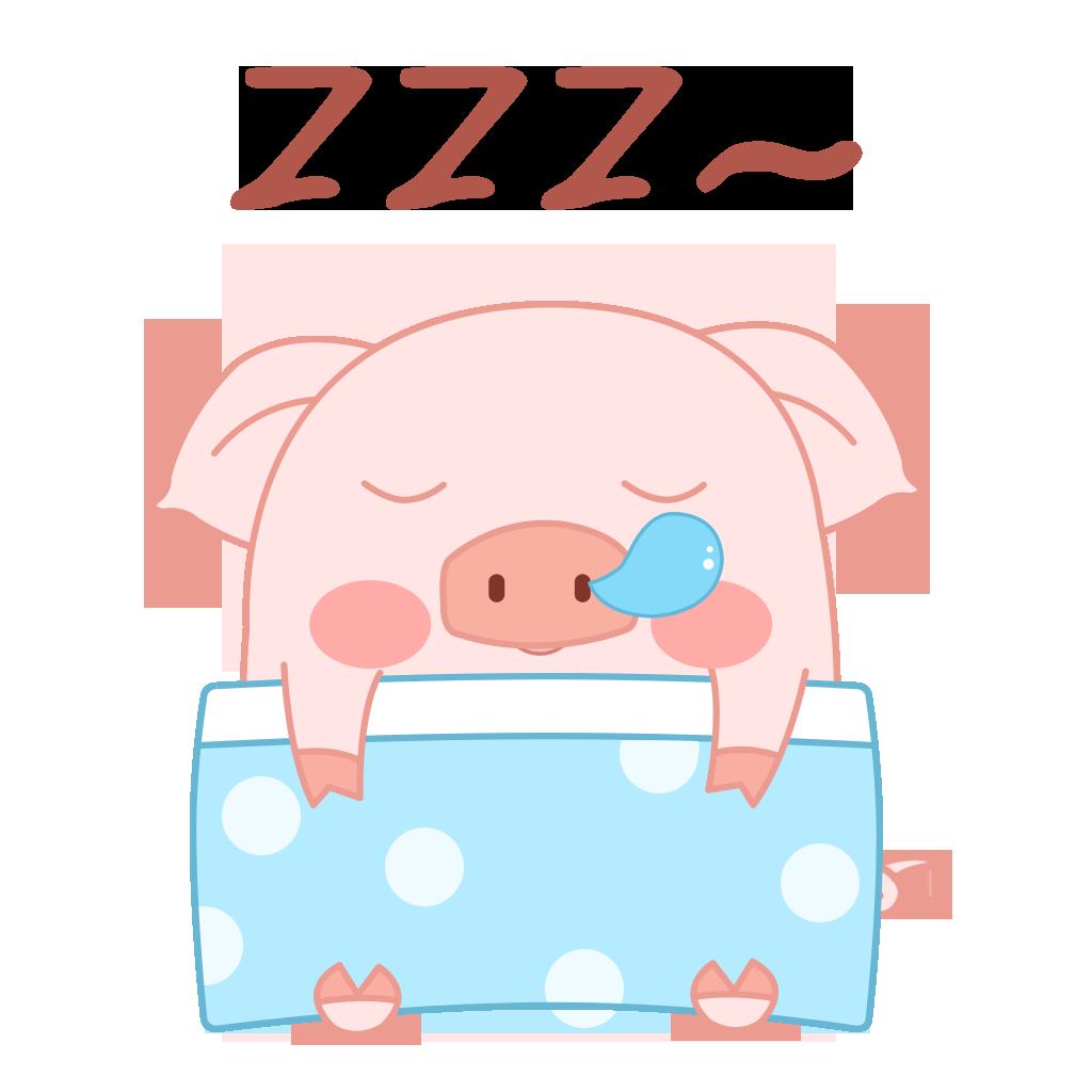 Pippi Pig messages sticker-8