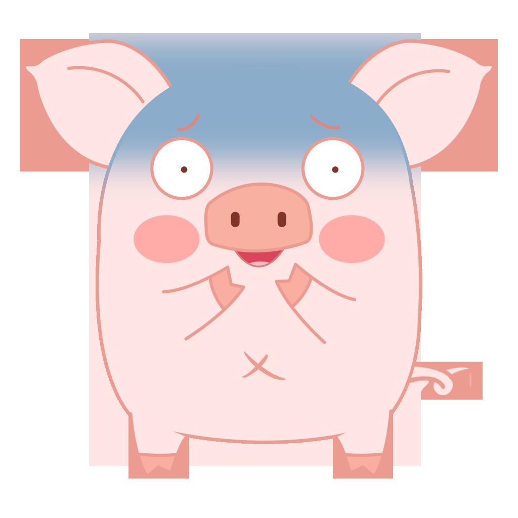 Pippi Pig messages sticker-0