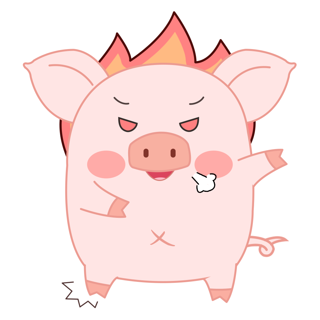 Pippi Pig messages sticker-10