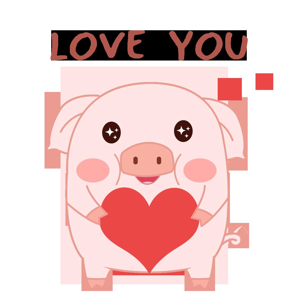 Pippi Pig messages sticker-9