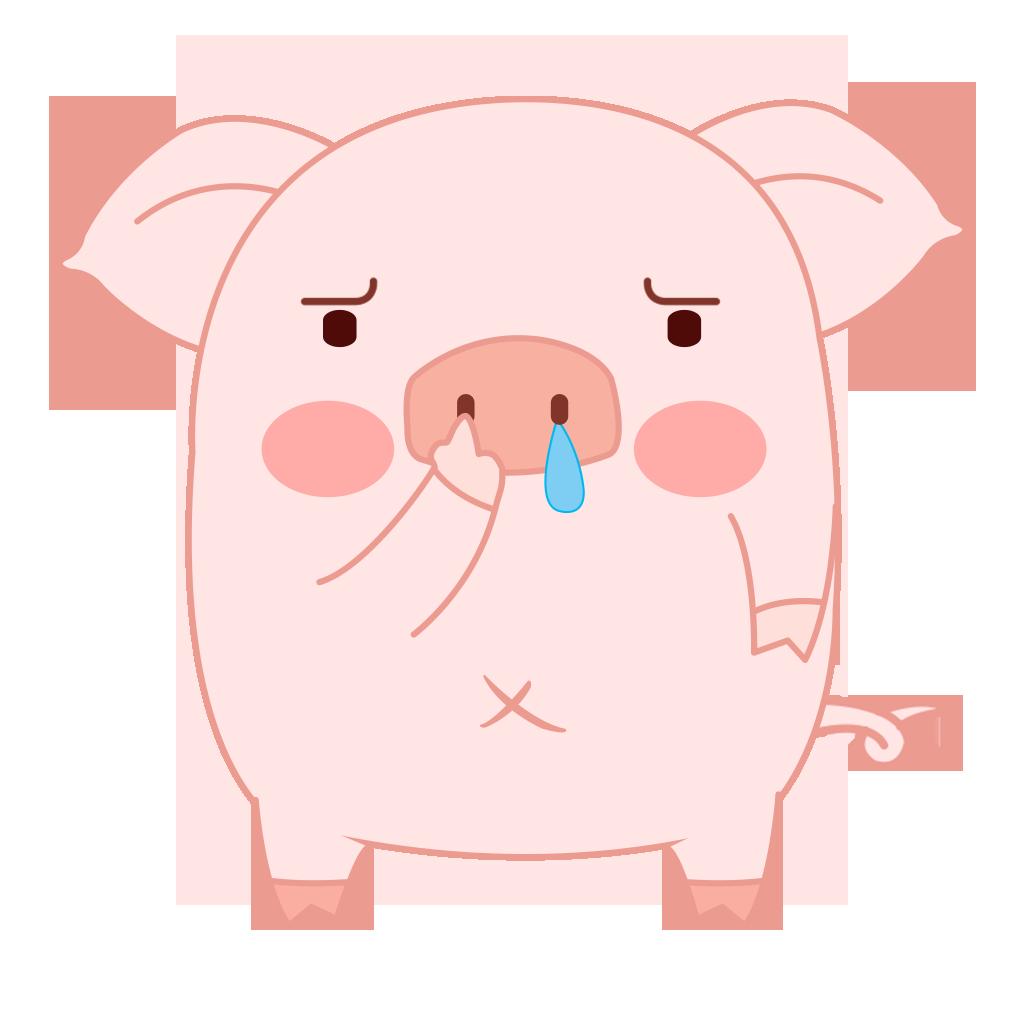 Pippi Pig messages sticker-4