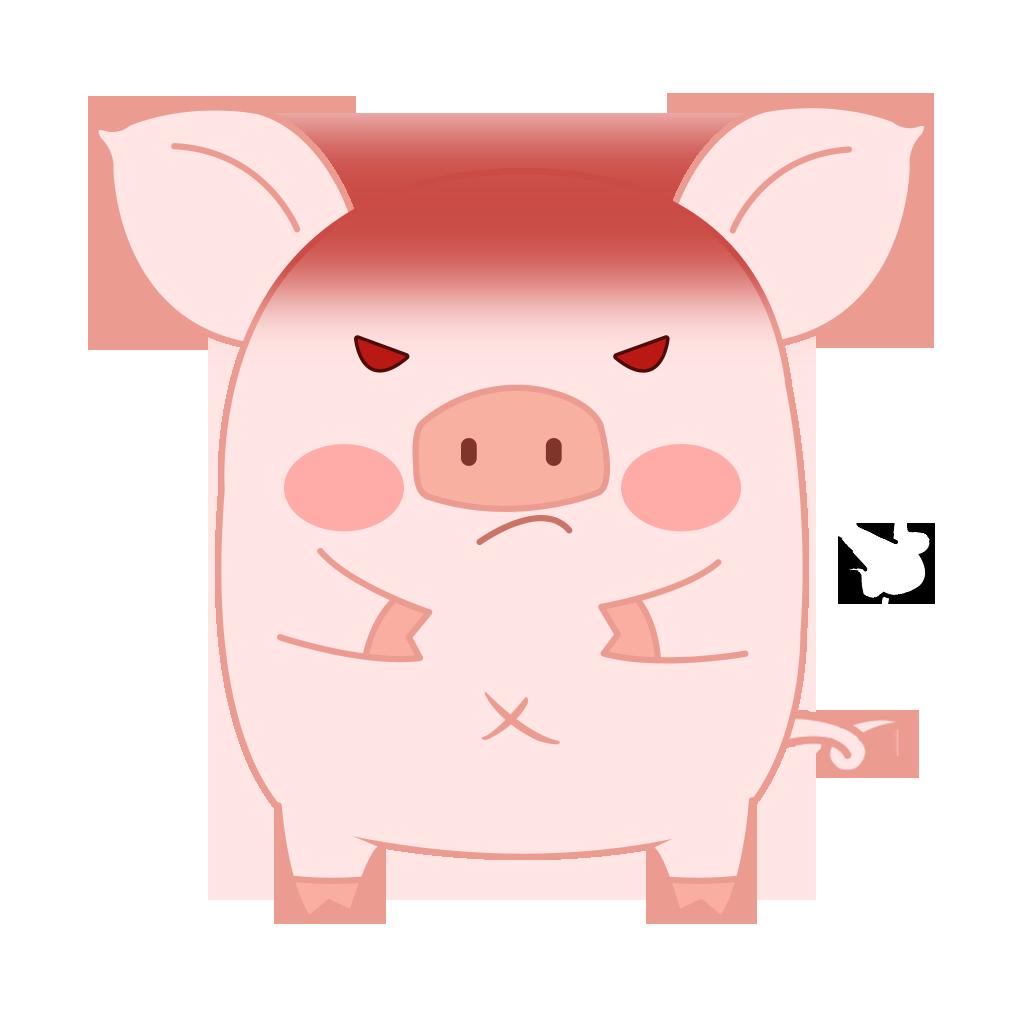 Pippi Pig messages sticker-6