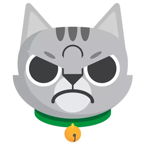 Funny Cat Stickers Animated messages sticker-7