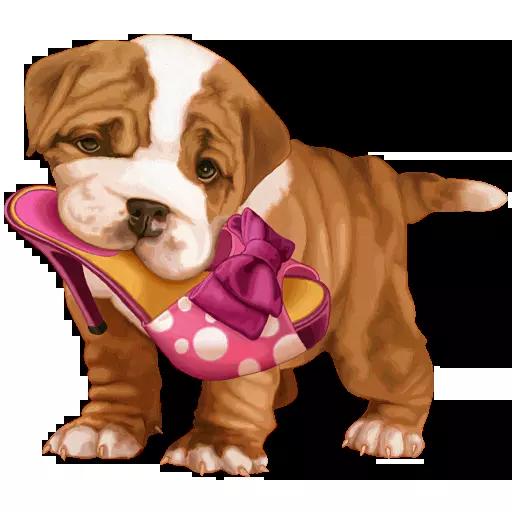 DogMoji - Dog Sticker & Emojis messages sticker-8