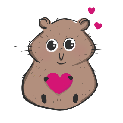 Fig The Hamster messages sticker-5