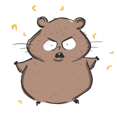 Fig The Hamster messages sticker-4