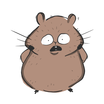 Fig The Hamster messages sticker-2