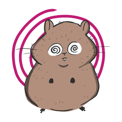 Fig The Hamster messages sticker-3