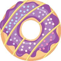 SweetDonutCollectionStickies messages sticker-0