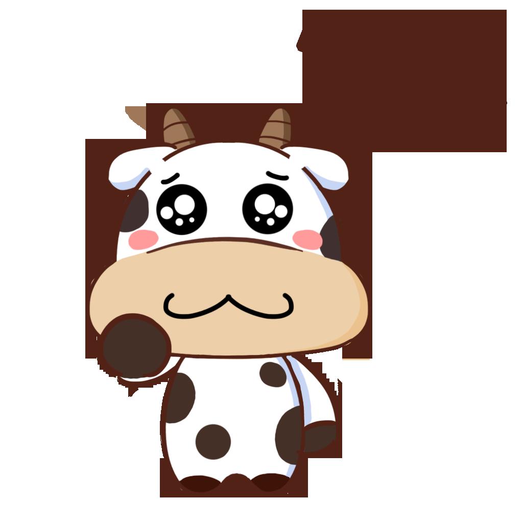 护国神牛-可爱贴纸 messages sticker-9
