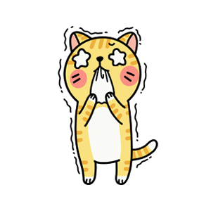 Cat cute messages sticker-7