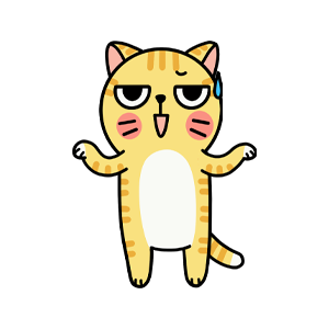 Cat cute messages sticker-3