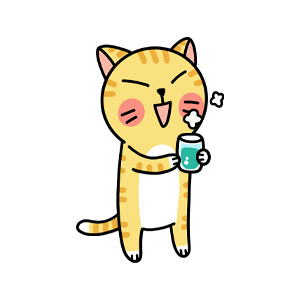 Cat cute messages sticker-6
