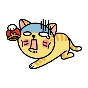 Cat cute messages sticker-2