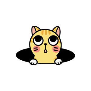 Cat cute messages sticker-4