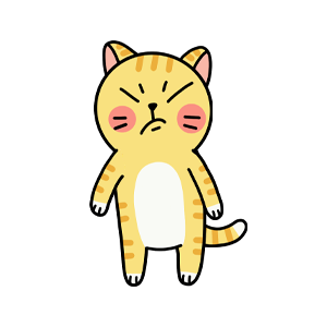Cat cute messages sticker-1