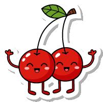 VegetableFruitLivingStickies messages sticker-4