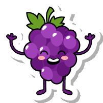 VegetableFruitLivingStickies messages sticker-8