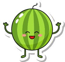 VegetableFruitLivingStickies messages sticker-6