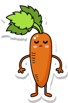 VegetableFruitLivingStickies messages sticker-0