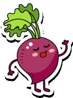 VegetableFruitLivingStickies messages sticker-3
