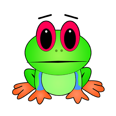 Rocko Frog messages sticker-9