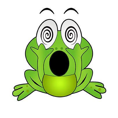 Rocko Frog messages sticker-1