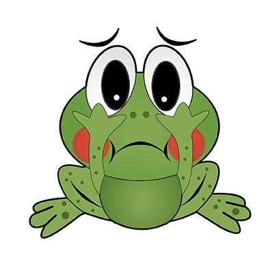Rocko Frog messages sticker-8