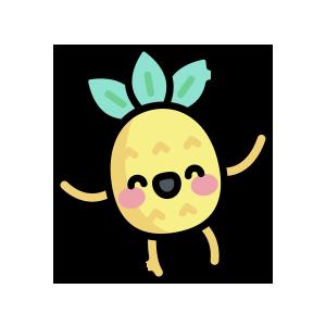 菠萝来了 messages sticker-4