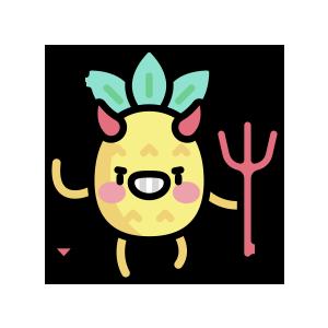 菠萝来了 messages sticker-10