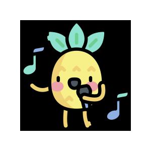 菠萝来了 messages sticker-5
