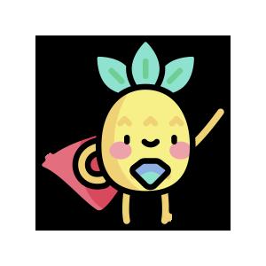 菠萝来了 messages sticker-6