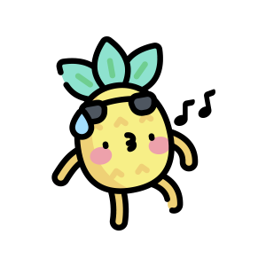 菠萝来了 messages sticker-9