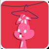 Pk Rabbit messages sticker-2