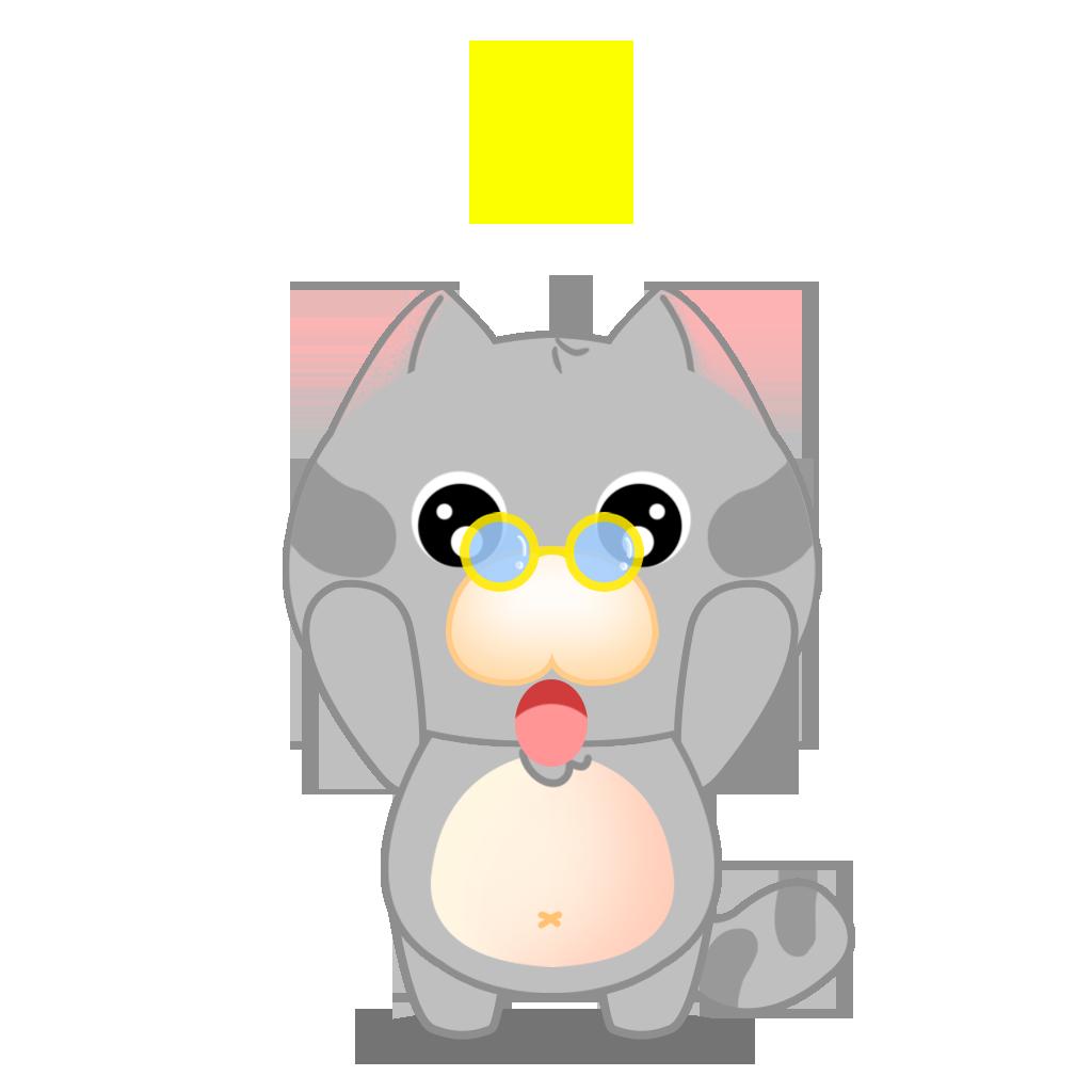 Tinker Cat messages sticker-8