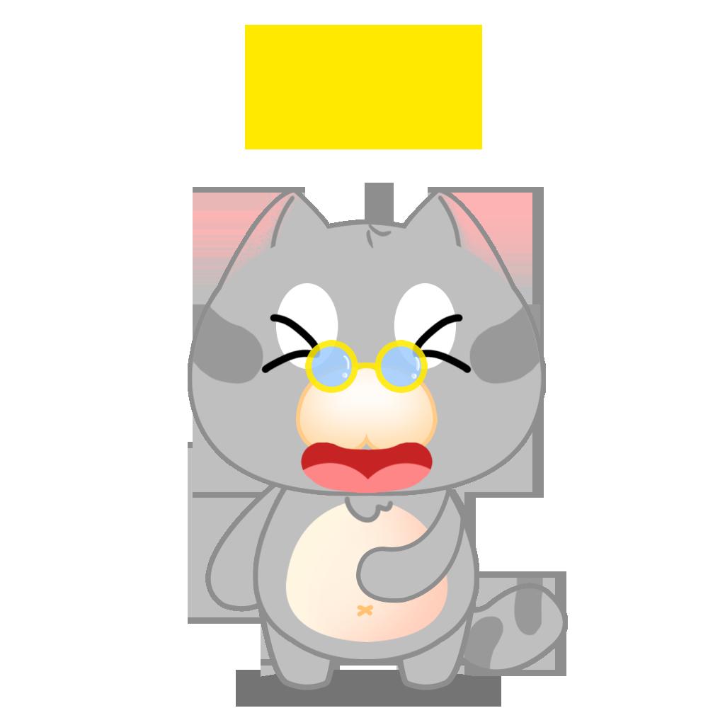 Tinker Cat messages sticker-9