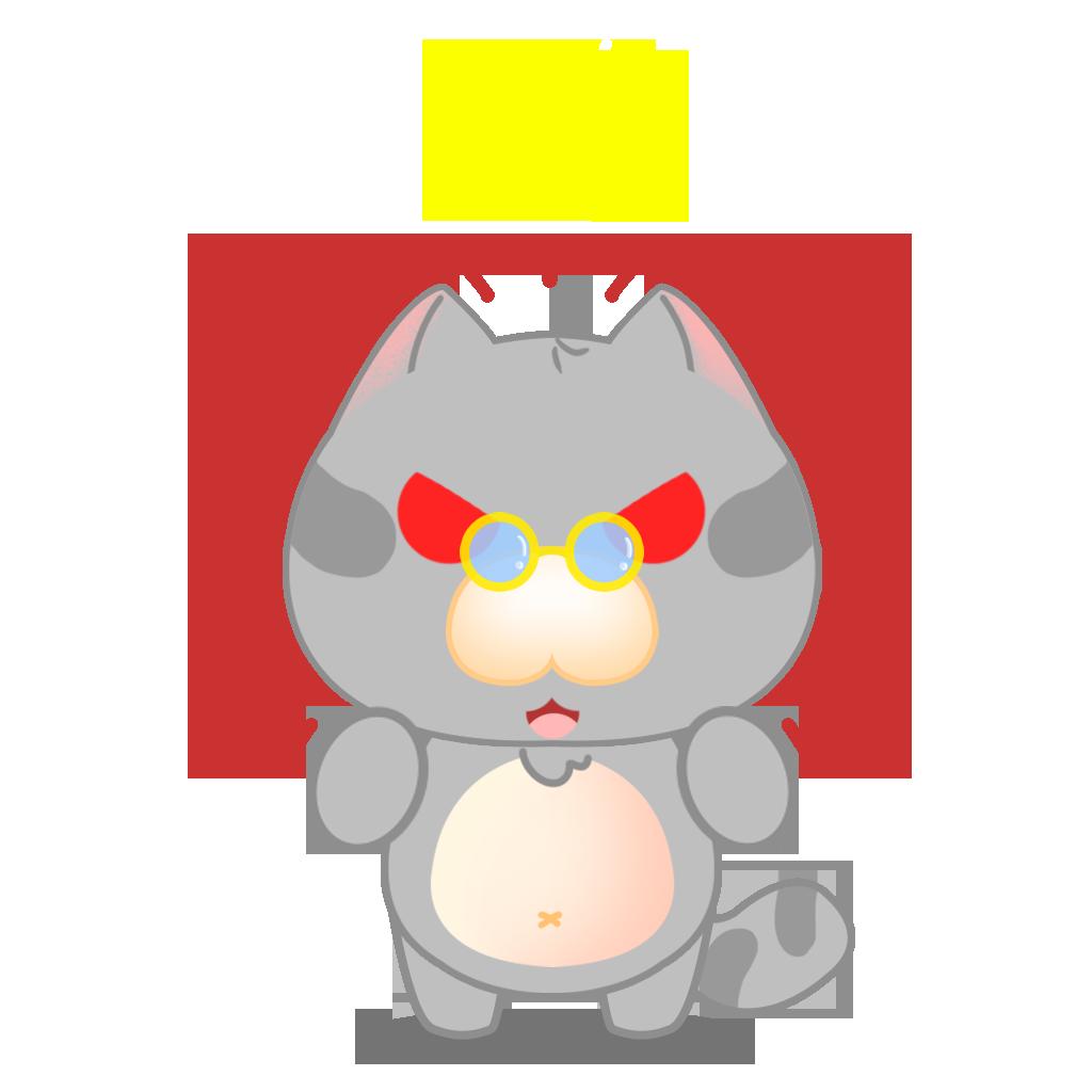 Tinker Cat messages sticker-7