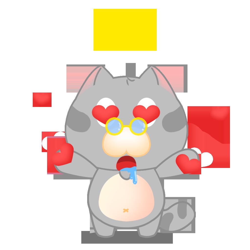 Tinker Cat messages sticker-0