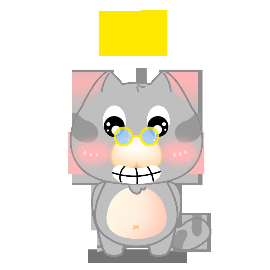 Tinker Cat messages sticker-3